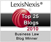 Business Law Blog Winnner